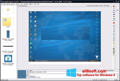 Skærmbillede ScreenShot Windows 8