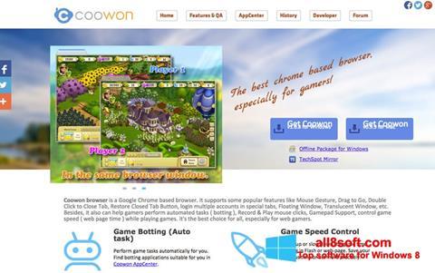 Skærmbillede Coowon Browser Windows 8