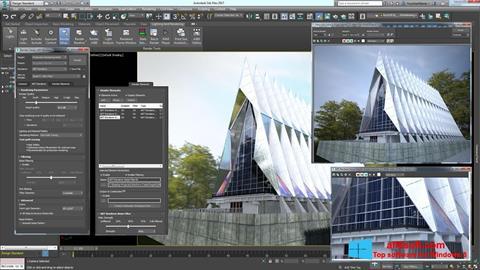 Skærmbillede 3ds Max Windows 8