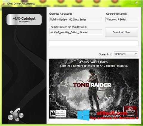 Skærmbillede AMD Driver Autodetect Windows 8
