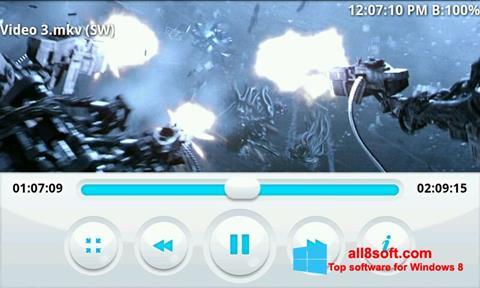 Skærmbillede BSPlayer Windows 8