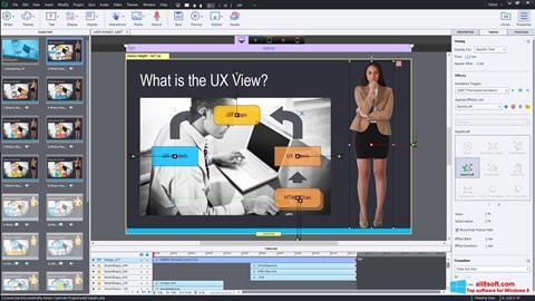Skærmbillede Adobe Captivate Windows 8