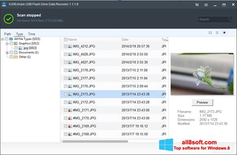 Skærmbillede USB Flash Drive Recovery Windows 8
