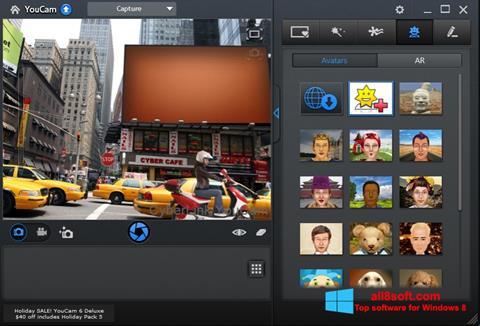 Skærmbillede CyberLink YouCam Windows 8