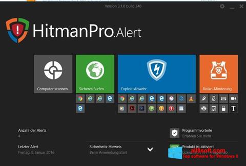 Skærmbillede HitmanPro Windows 8
