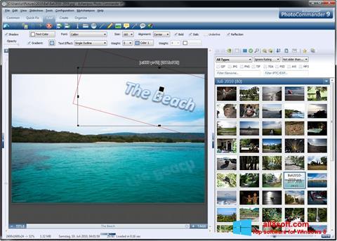 Skærmbillede Ashampoo Photo Commander Windows 8
