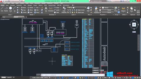 Skærmbillede AutoCAD Electrical Windows 8