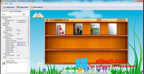 Skærmbillede Bookshelf Windows 8