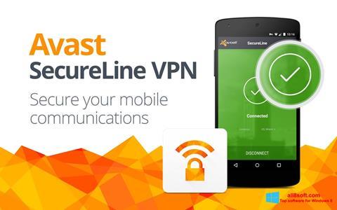 Skærmbillede Avast SecureLine VPN Windows 8