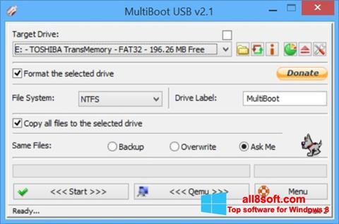 Skærmbillede Multi Boot USB Windows 8