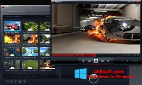 Skærmbillede Action! Windows 8