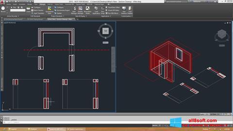 Skærmbillede AutoCAD Architecture Windows 8