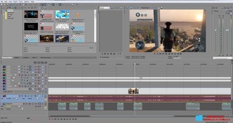 Skærmbillede Sony Vegas Pro Windows 8