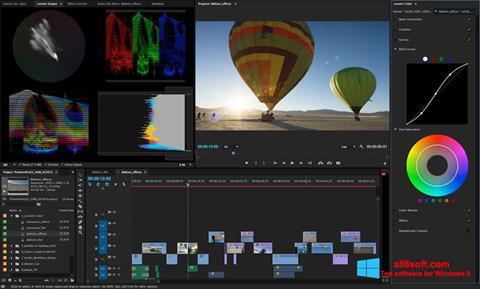 Skærmbillede Adobe Premiere Pro Windows 8