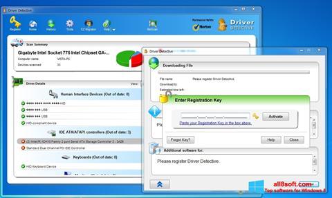Skærmbillede Driver Detective Windows 8