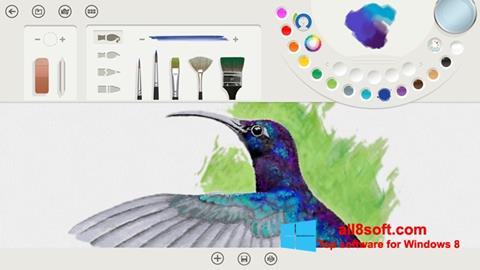 Skærmbillede Fresh Paint Windows 8
