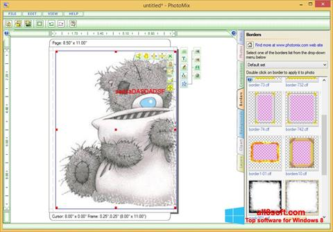 Skærmbillede PhotoMix Collage Windows 8
