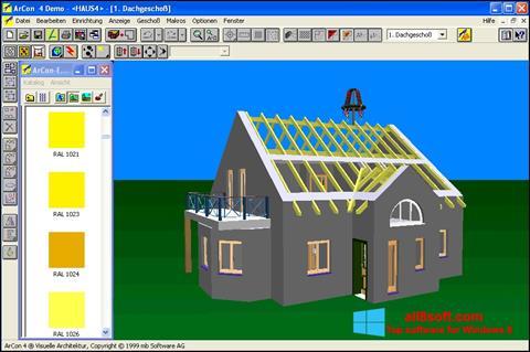 Skærmbillede Arcon Windows 8