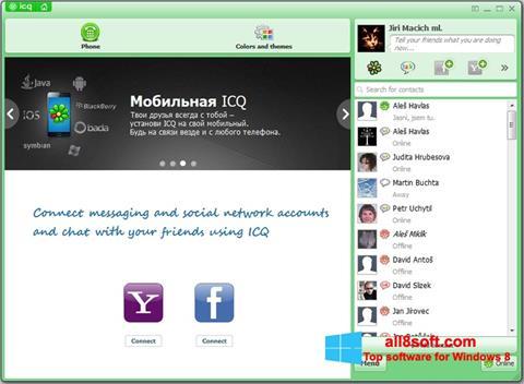 Skærmbillede ICQ Windows 8