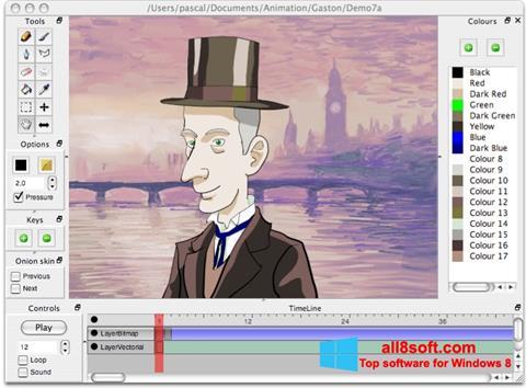 Skærmbillede Pencil Windows 8