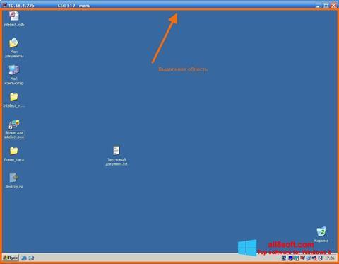 Skærmbillede Radmin Windows 8