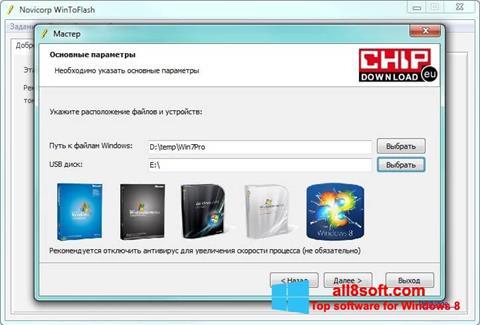 Skærmbillede WinToFlash Windows 8