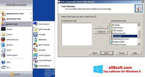 Skærmbillede ERD Commander Windows 8