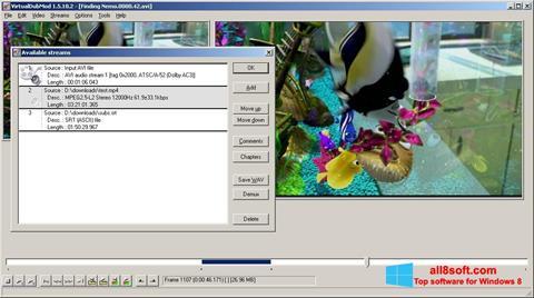 Skærmbillede VirtualDubMod Windows 8