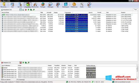 Skærmbillede eMule Windows 8