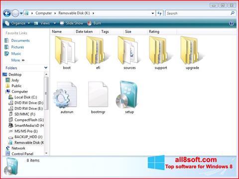 Skærmbillede Windows 7 USB DVD Download Tool Windows 8