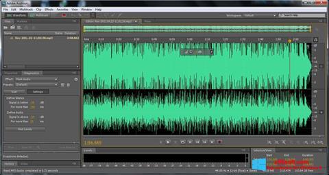 Skærmbillede Adobe Audition Windows 8