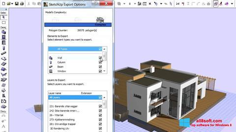 Skærmbillede ArchiCAD Windows 8