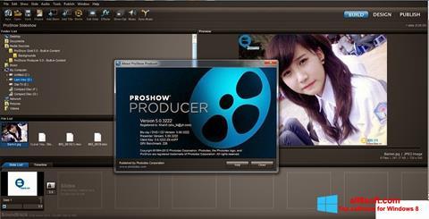 Skærmbillede ProShow Producer Windows 8
