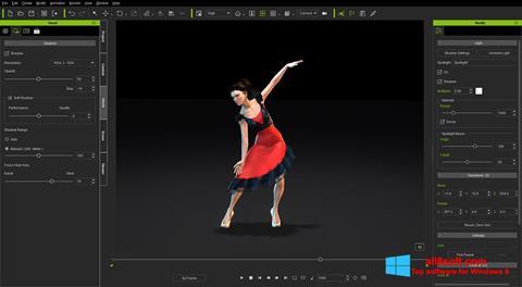Skærmbillede iClone Windows 8