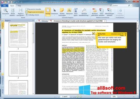 Skærmbillede Nitro PDF Reader Windows 8