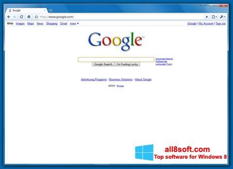 Skærmbillede Google Chrome Beta Windows 8