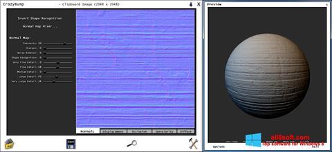Skærmbillede CrazyBump Windows 8