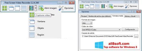 Skærmbillede Free Screen Video Recorder Windows 8