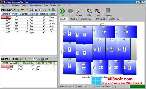 Skærmbillede Cutting Windows 8