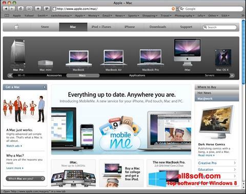 Skærmbillede Safari Windows 8