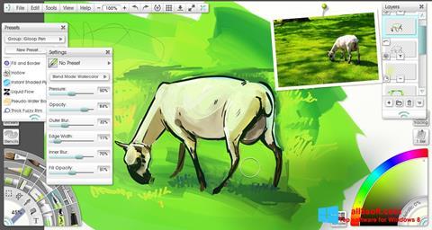 Skærmbillede ArtRage Windows 8