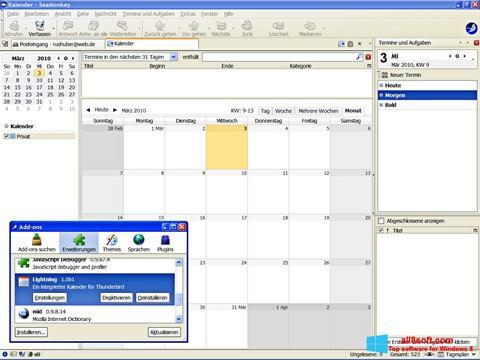 Skærmbillede SeaMonkey Windows 8