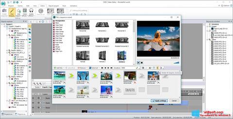 Skærmbillede VSDC Free Video Editor Windows 8