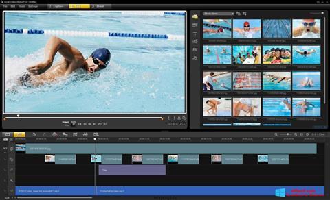 Skærmbillede Corel VideoStudio Windows 8