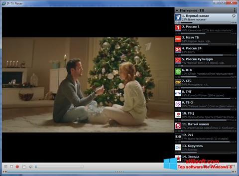 Skærmbillede IP-TV Player Windows 8