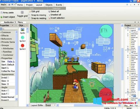 Skærmbillede Construct Classic Windows 8