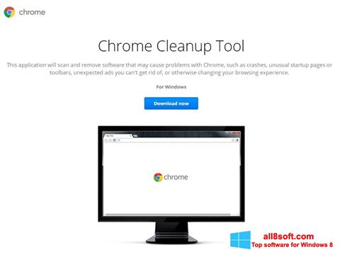Skærmbillede Chrome Cleanup Tool Windows 8