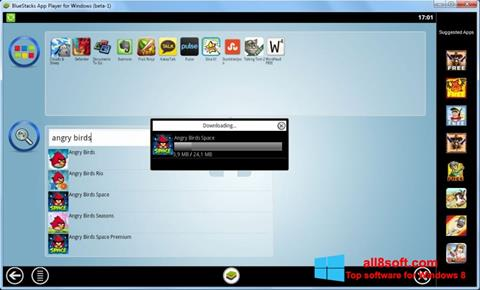 Skærmbillede BlueStacks Windows 8