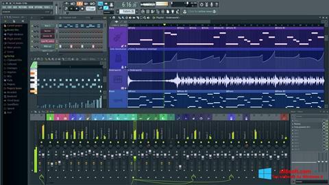 Skærmbillede FL Studio Windows 8