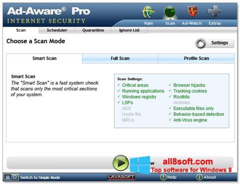 Skærmbillede Ad-Aware Windows 8